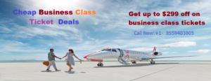 cheap business class ticket