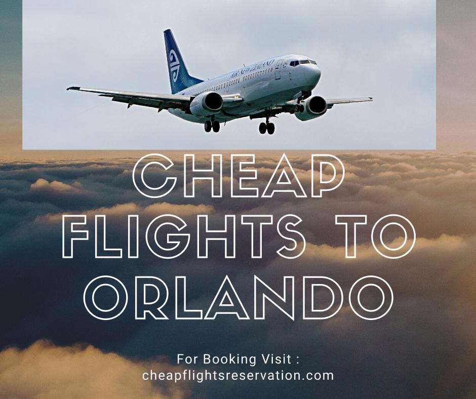 Cheap flights to Orlando